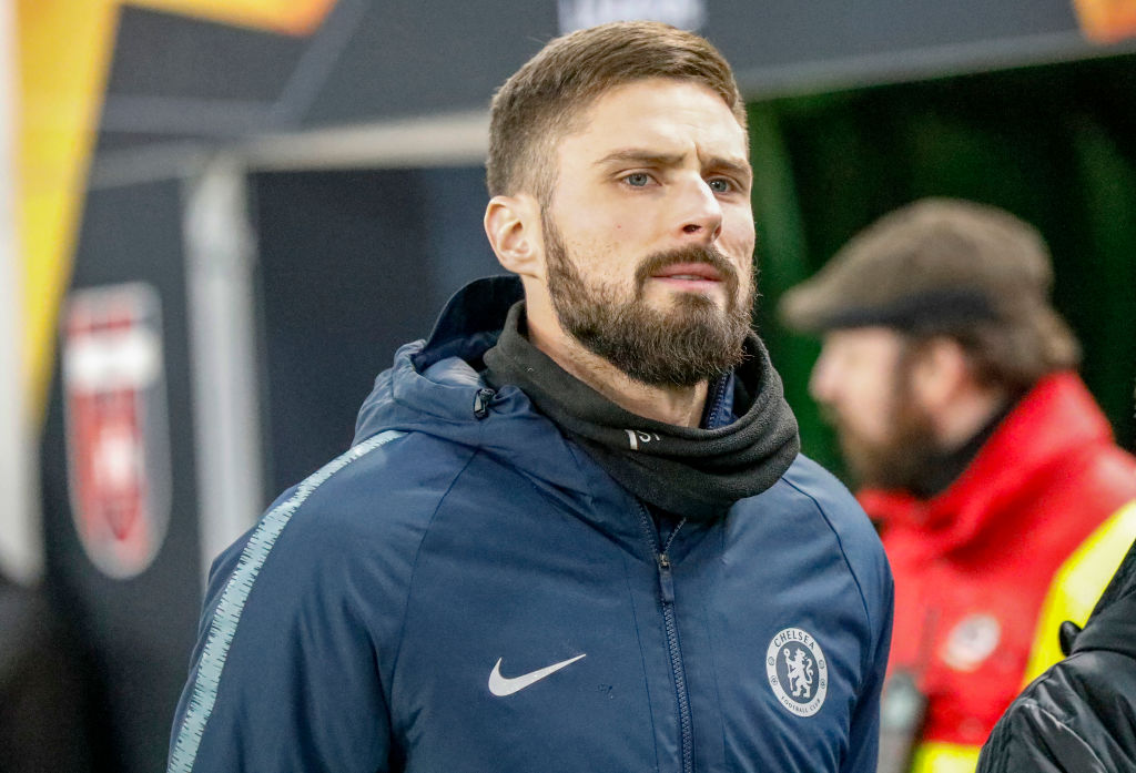 Olivier Giroud considering his Chelsea future after receiving offers to leave Stamford Bridge