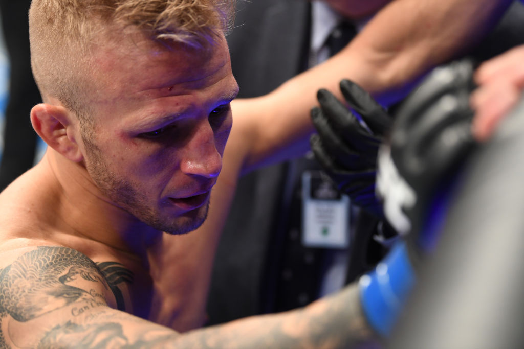 Joe Rogan brands TJ Dillashaw a cheat after UFC star banned for EPO use