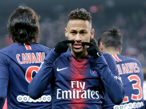 Neymar charged by UEFA for telling referee to 'go f**k yourself' after Manchester United defeat