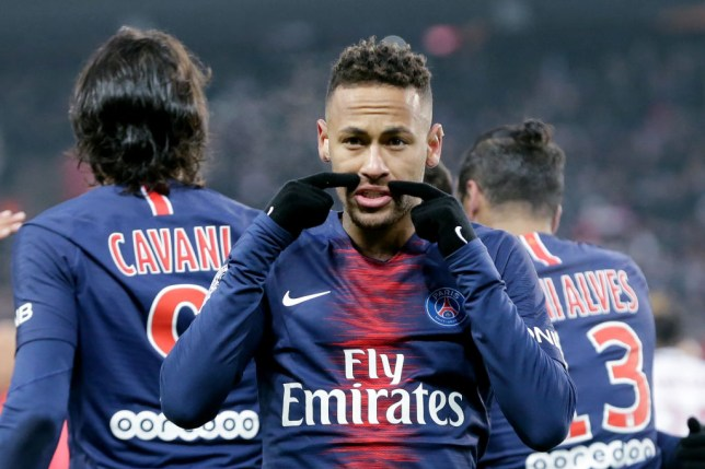 PSG's Neymar charged by UEFA