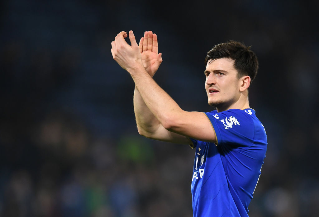 Leicester City set £90m asking price for Manchester United to sign Harry Maguire