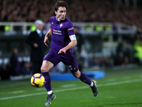 Liverpool join Tottenham and Man Utd in race for Fiorentina's Federico Chiesa