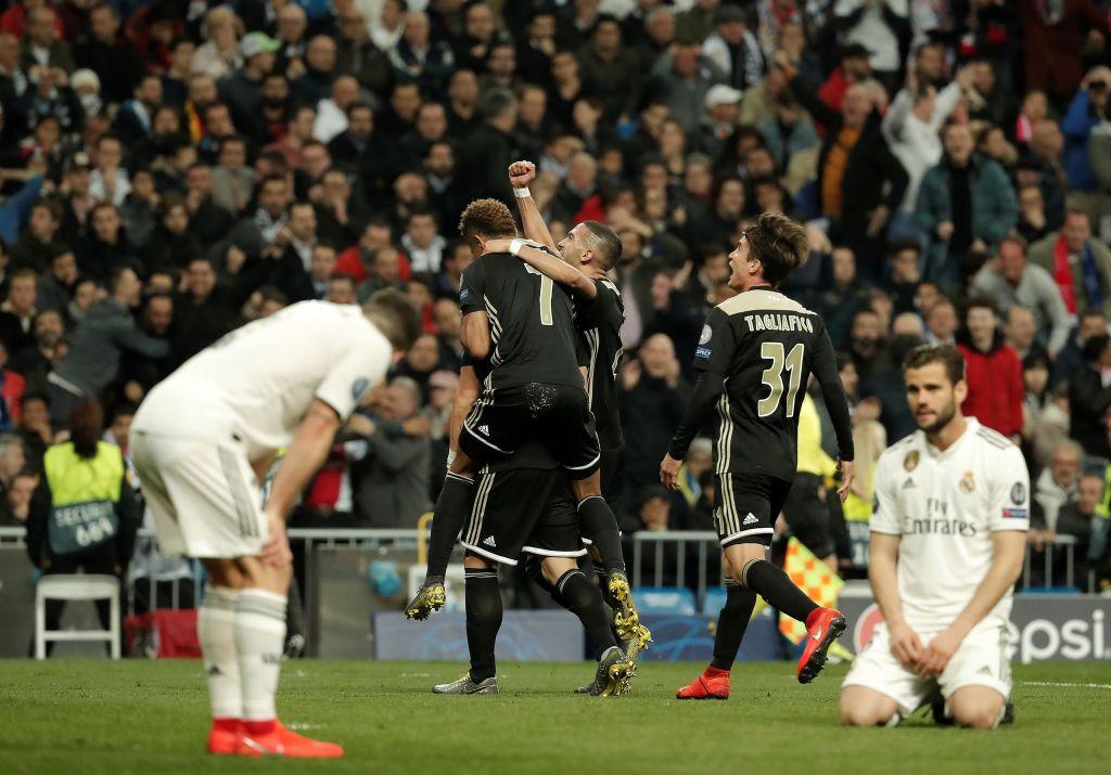 Real Madrid crash out of Champions League, Tottenham progress to quarter-finals