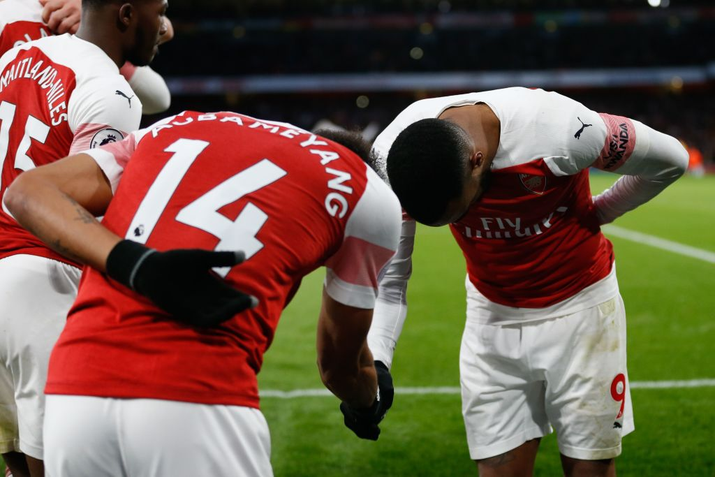 Pierre-Emerick Aubameyang gives special shoutout to Alexandre Lacazette after Arsenal win