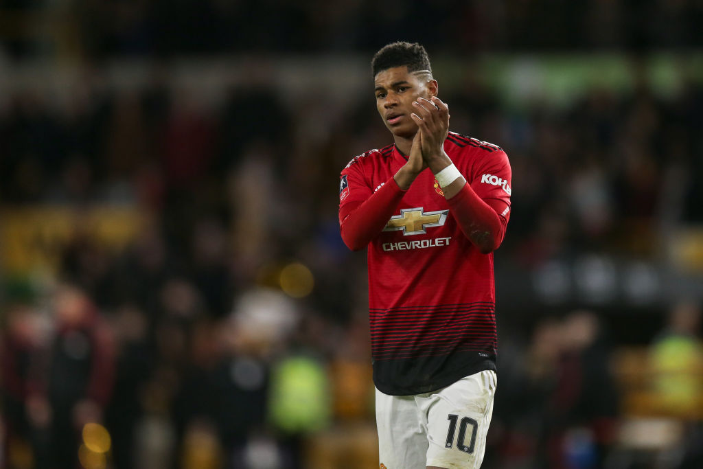 Marcus Rashford reveals the four Man Utd heroes he idolised growing up