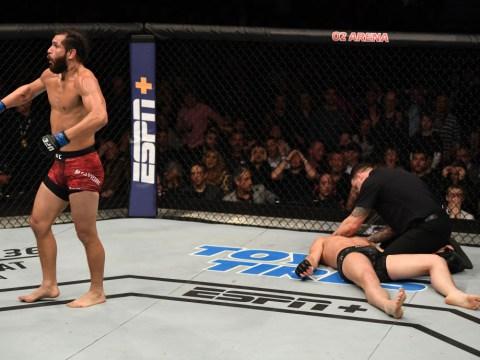 Jorge Masvidal scores stunning knockout against Darren Till in London