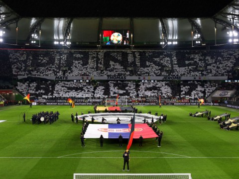 Germany fans pay special tribute to Mats Hummels, Thomas Muller & Jerome Boateng before Serbia tie