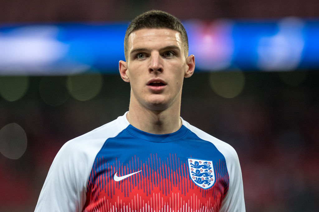 West Ham star Declan Rice responds to Manchester United and Manchester City transfer rumours