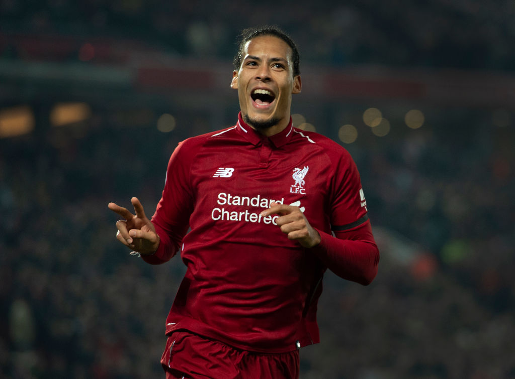 Virgil van Dijk has been a rock at the heart of Liverpool's defence