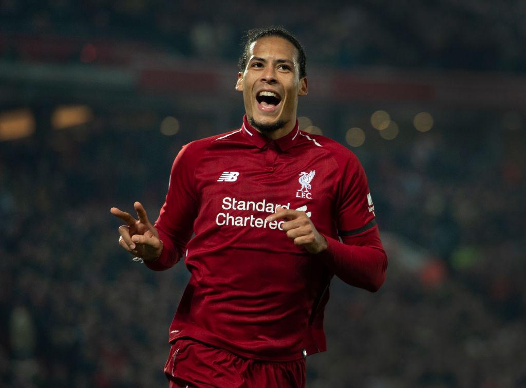 Liverpool's Virgil van Dijk beats Man City's Raheem Sterling to win PFA Players' Player of the Year
