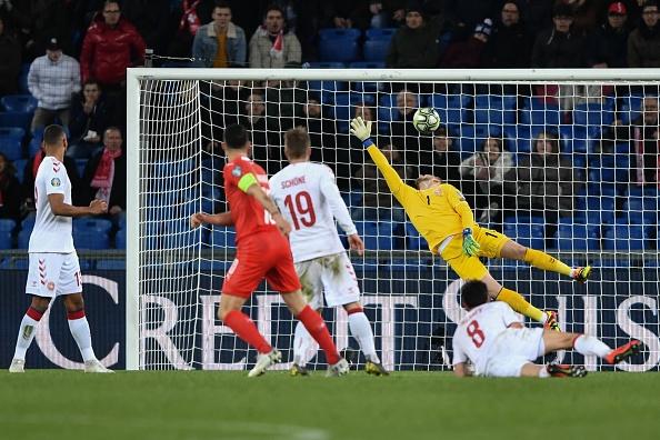 Arsenal star Granit Xhaka scores for Switzerland