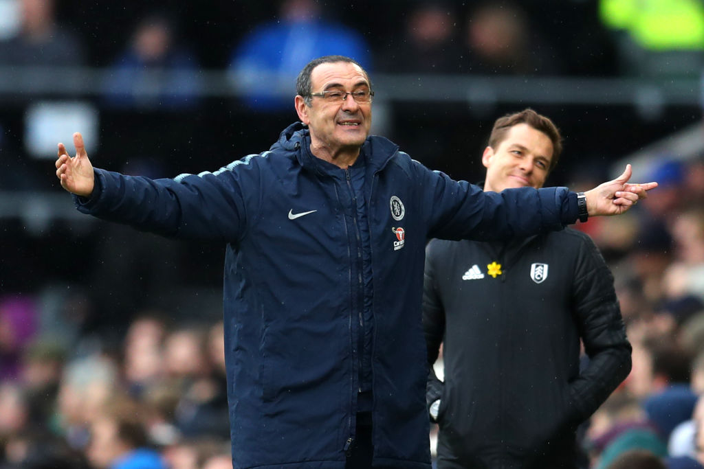 Maurizio Sarri giving Chelsea players greater say in tactics