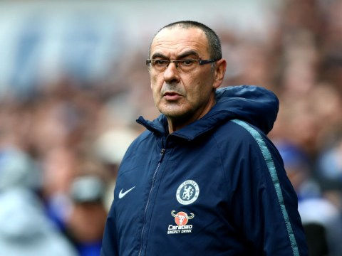 Maurizio Sarri hits back at Chelsea fans over 'we want Sarri out' chants
