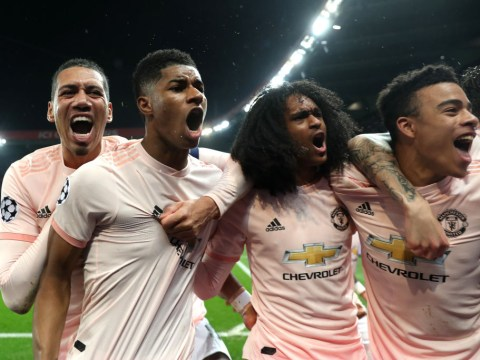 Manchester United make history to stun PSG and reach Champions League quarter-finals