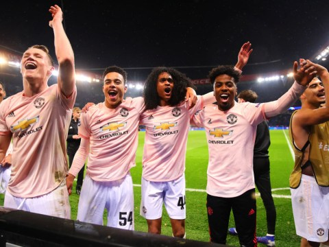 How Manchester United's injured stars celebrated Champions League win over PSG