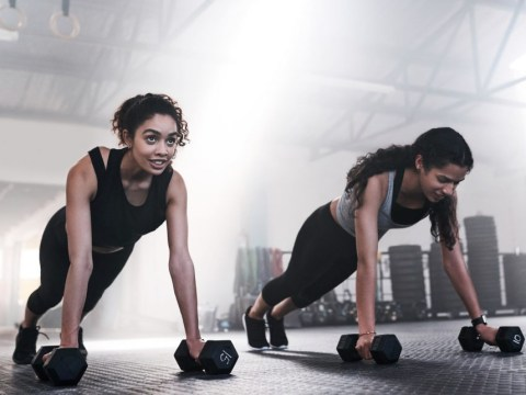How to do the perfect dumbbell burpee