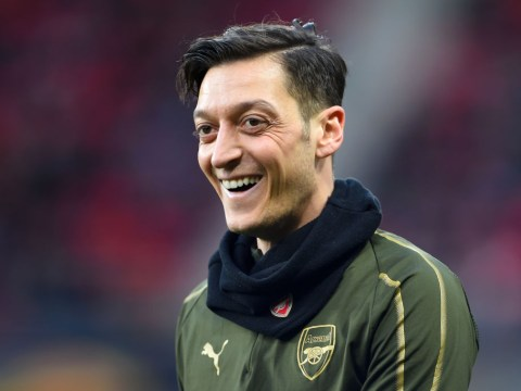 Robert Pires compares 'magician' Mesut Ozil to Arsenal legend Dennis Bergkamp