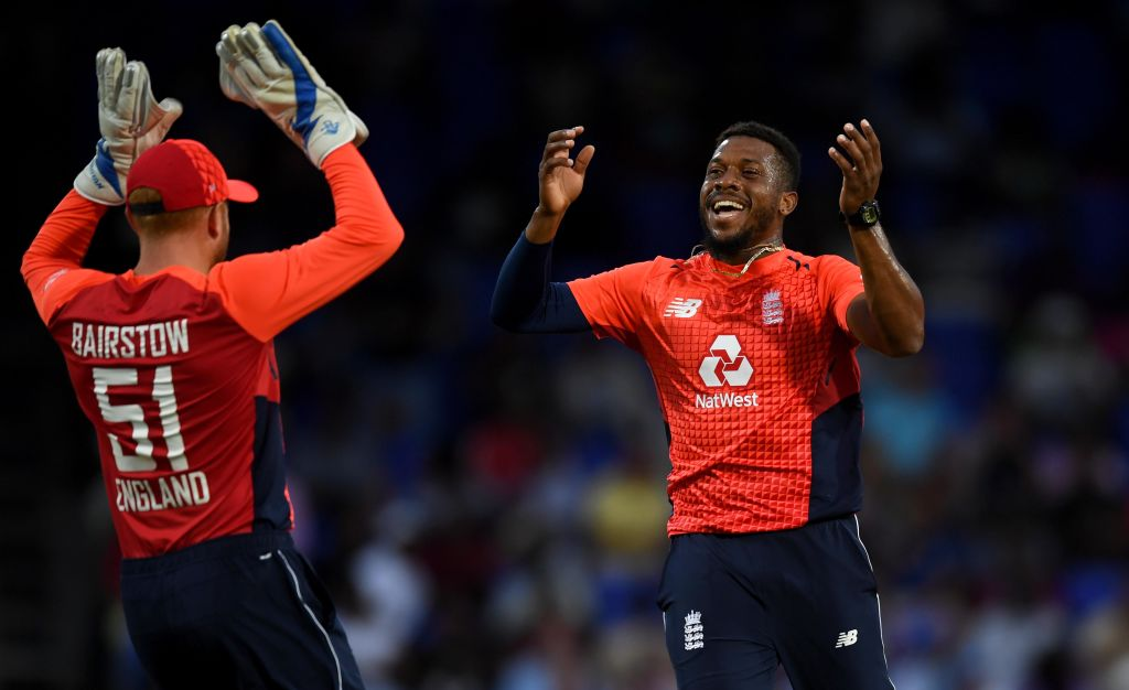 England bowl West Indies out for 45 to clinch T20 series win