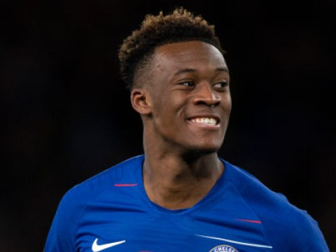 Maurizio Sarri delivers big update on Callum Hudson-Odoi's Chelsea future