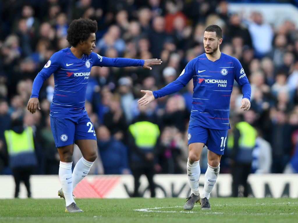 Eden Hazard comes to Chelsea's rescue with dramatic late strike to deny Wolves