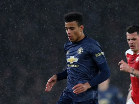 Raheem Sterling sent message to Manchester United wonderkid Mason Greenwood after first team debut