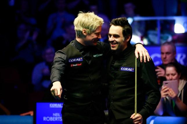 Neil Robertson and Ronnie O'Sullivan