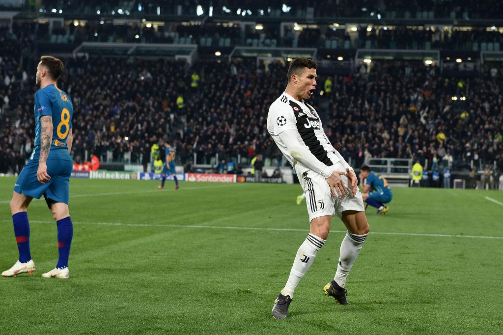 Cristiano Ronaldo charged with improper conduct for 'cojones' celebration