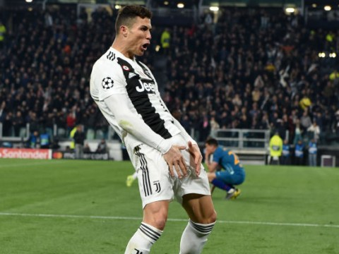 Cristiano Ronaldo trolls Diego Simeone by copying his balls celebration after Juventus comeback
