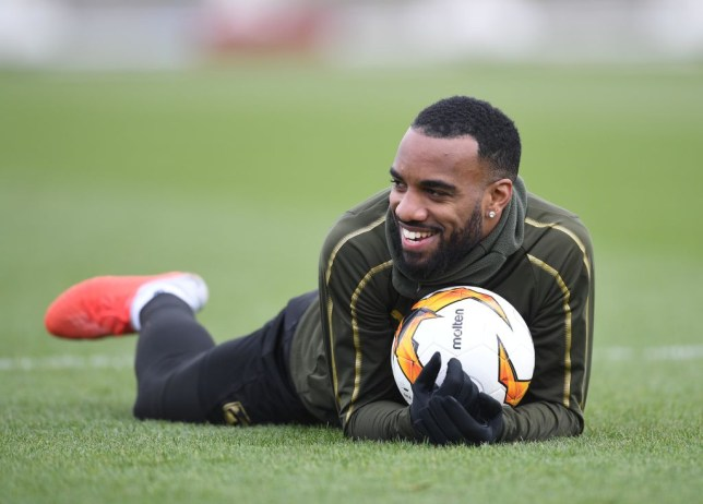 Arsenal news: Alexandre Lacazette is available against Rennes