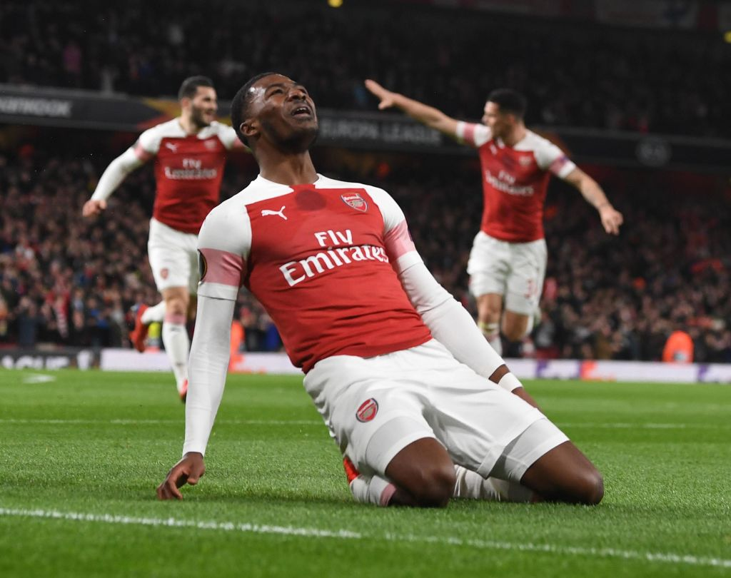 Arsenal Rennes Picture: Arsenal News: Pierre-Emerick Aubameyang Praises Ainsley