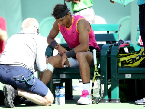 Rafael Nadal pulls out of Indian Wells before semi-final clash with Roger Federer