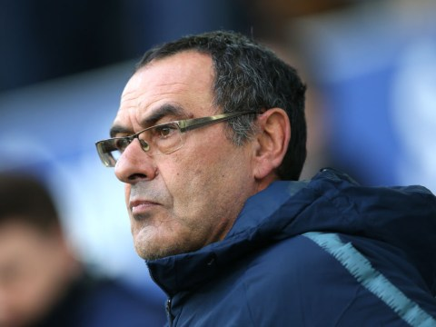 Maurizio Sarri reveals who is to blame for Chelsea collapse against Everton