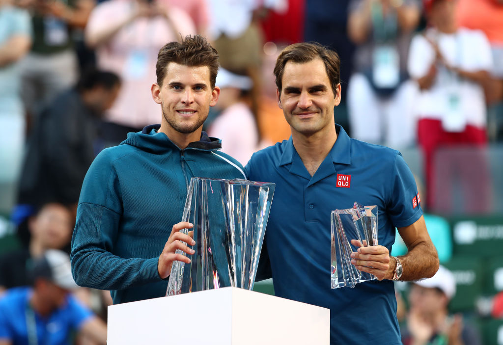 Roger Federer reacts to 'frustrating and sad' loss to Dominic Thiem at Indian Wells