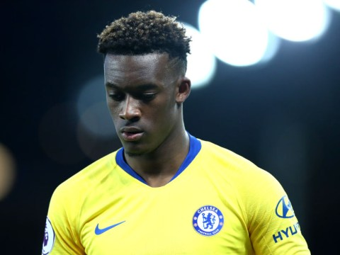 Maurizio Sarri to start Callum Hudson-Odoi on bench for Chelsea's clash with Cardiff