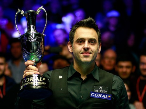 Reaching world number one is like winning the Premier League playing 19 games, says Ronnie O'Sullivan