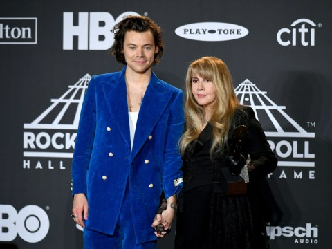 Stevie Nicks mistakes Harry Styles N'Sync member after he calls her his 'idol' at Rock & Roll Hall of Fame induction