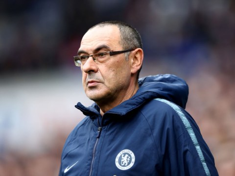 Roma want Chelsea's Maurizio Sarri to be their manager next season