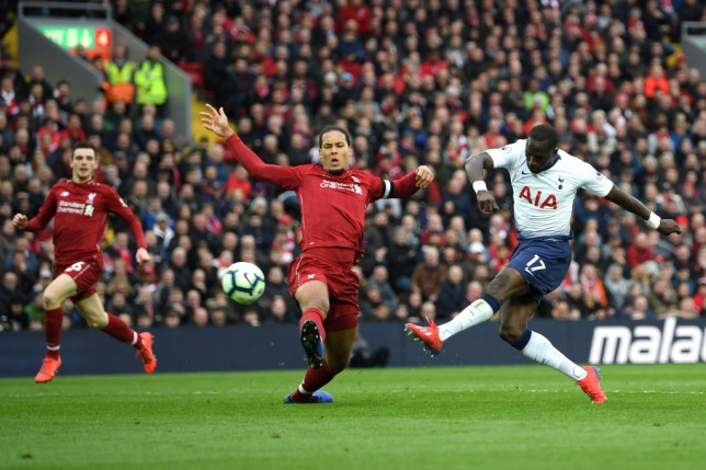 bc8c0ee8c The Dutchman had another colossal game at the back for Liverpool (Picture   Getty). Trent Alexander-Arnold ...