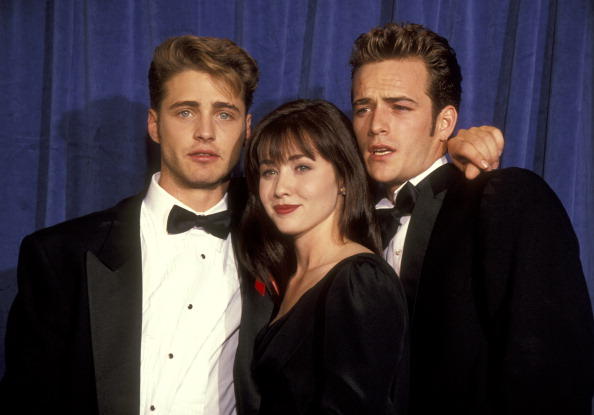 'Goodnight sweet prince': Jason Priestley pays emotional tribute to 90210 co-star Luke Perry