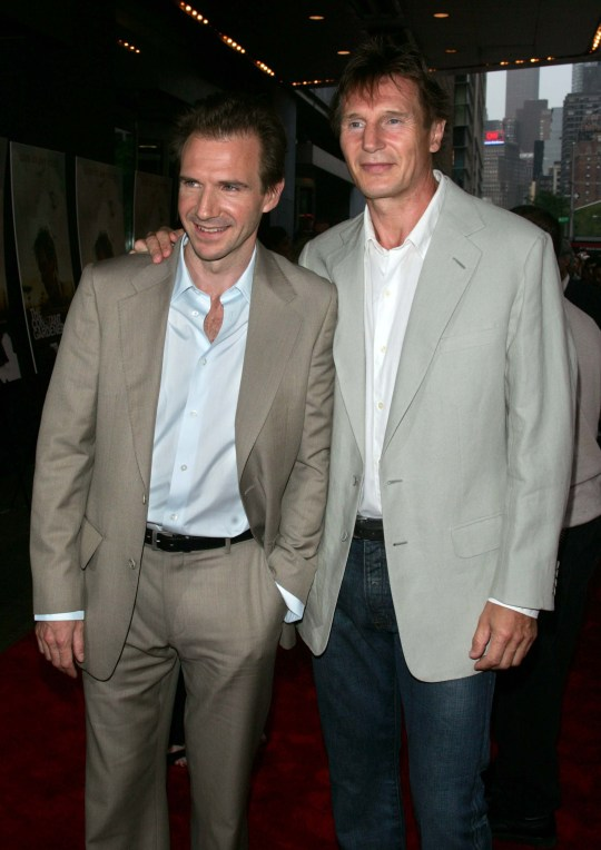 Ralph Fiennes defends Liam Neeson after 'black b******d' outrage
