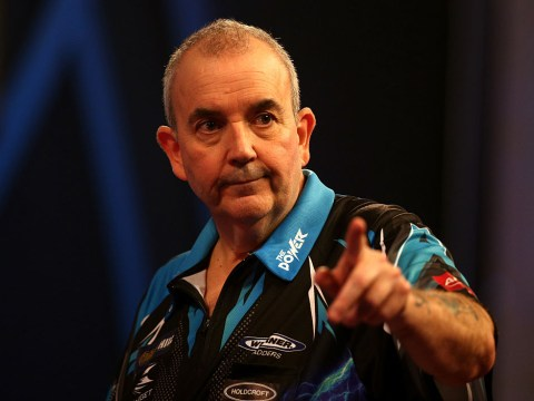 Darts legend Phil Taylor takes on 13-year-old world youth champion Leighton Bennett at the Tower of London
