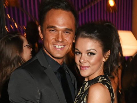 Gareth Gates and Faye Brookes 'rowing over contact with his ex-wife' before split