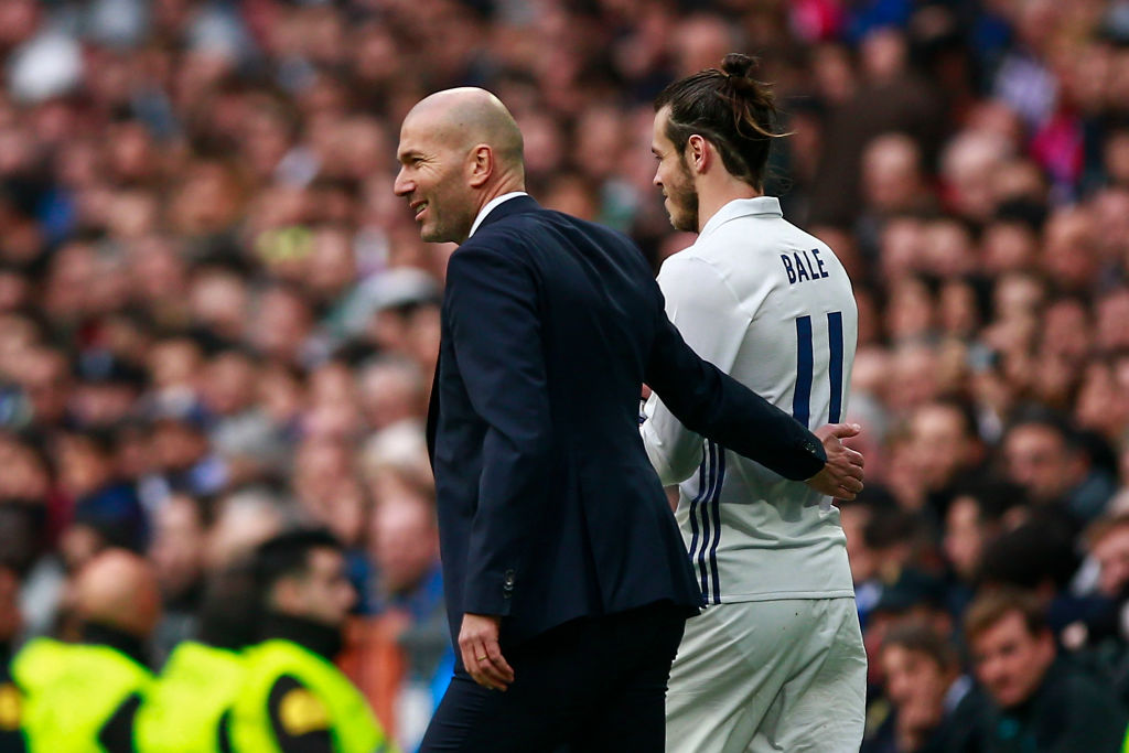 How Gareth Bale has reacted to Zinedine Zidane's Real Madrid return