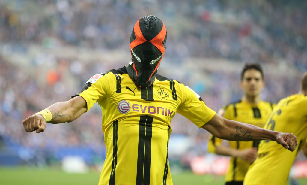 Arsenal star Pierre-Emerick Aubameyang to reveal new masked superhero celebration