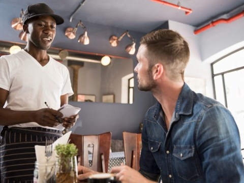 White restaurant manager realises what casual racism looks like after employing black waiter