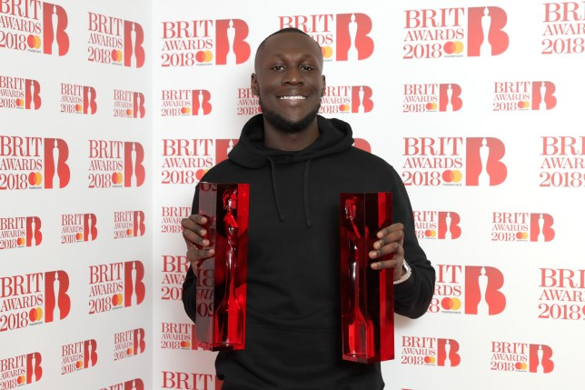 Stormzy has just released Vossi Bop - his first music video in nearly two years - as he comments on knife crime.