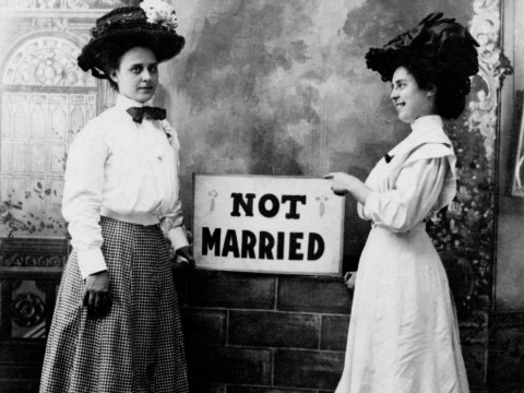 If you're an unmarried woman over the age of 26, you're not a spinster, you're a thornback
