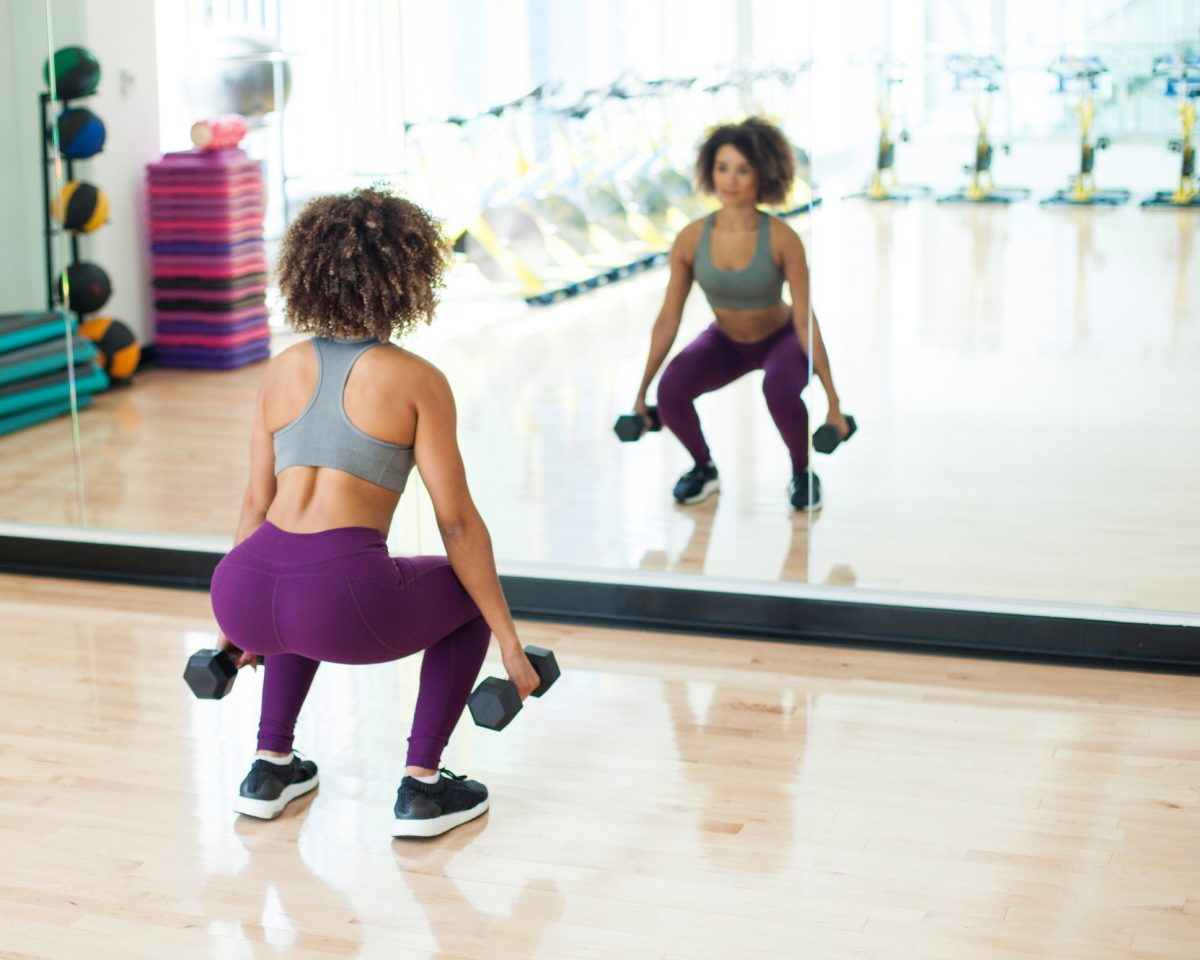 How to do the perfect weighted squats