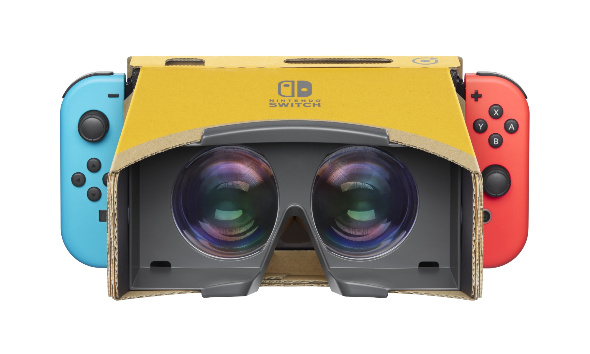 Nintendo VR headset announced and… it's a Labo one made of cardboard