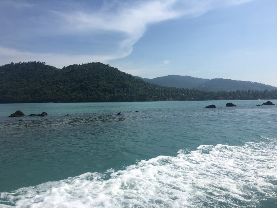 A nature photo of the beautiful Thai island, Koh Samui